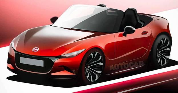 Будущая Mazda MX-5 обещала не переходить на электричество - Мотор