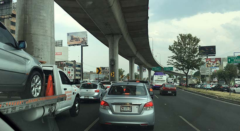 El Top 10 ciudades con más tráfico en el mundo dejó a la Ciudad de México en el No. 1 por segundo año consecutivo, según el Índice de Tráfico TomTom 2017.