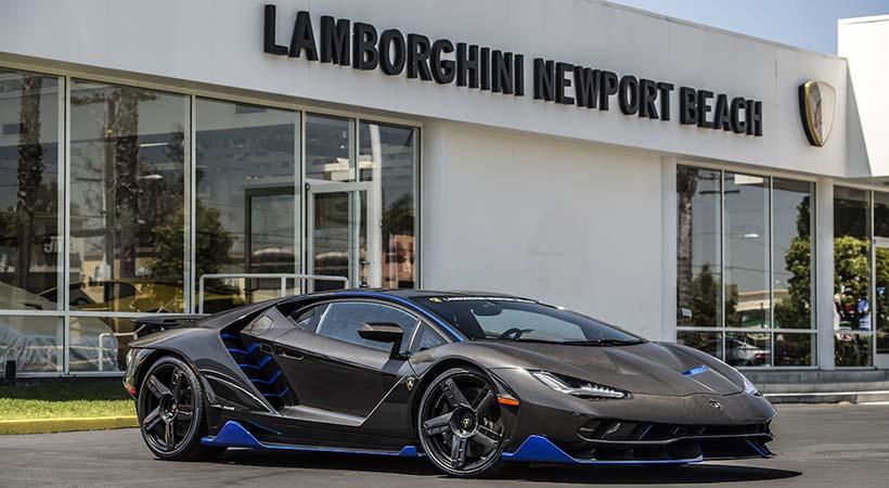 Primer Lamborghini Centenario
