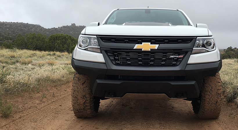 Test Drive off-road Chevrolet Colorado ZR2 2017