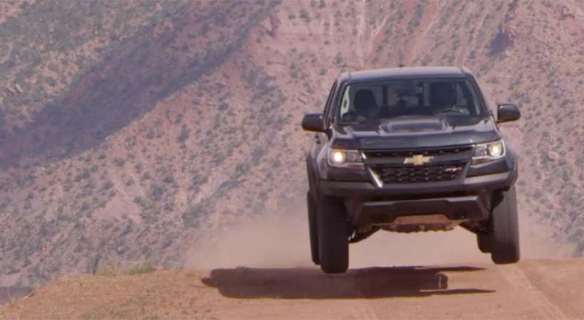 Test Drive Chevrolet Colorado ZR2