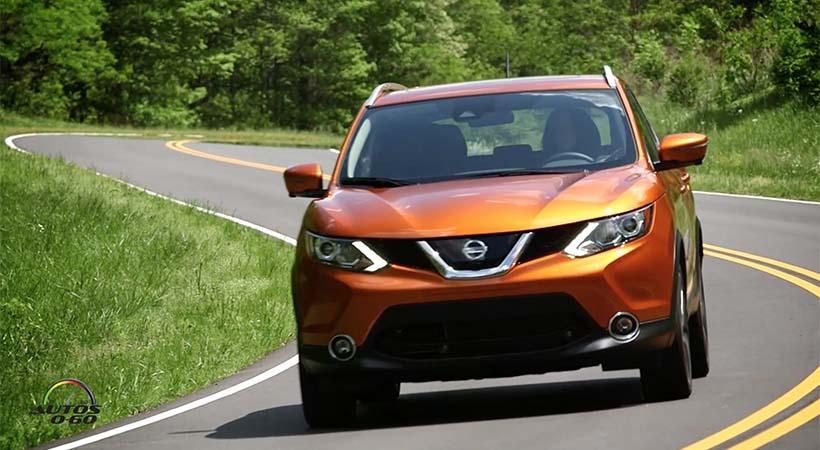 Test Drive Nissan Rogue Sport 2017