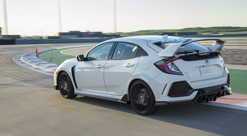 Honda Civic Type R por $60,000