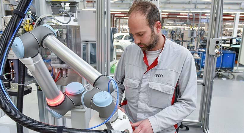 Robot humano Audi