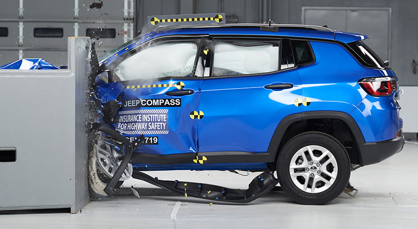 Jeep Compass 2017 Top Safety Pick