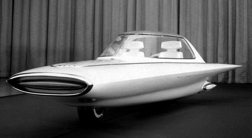 Mejores conceptos americanos del pasado: Ford Gyron