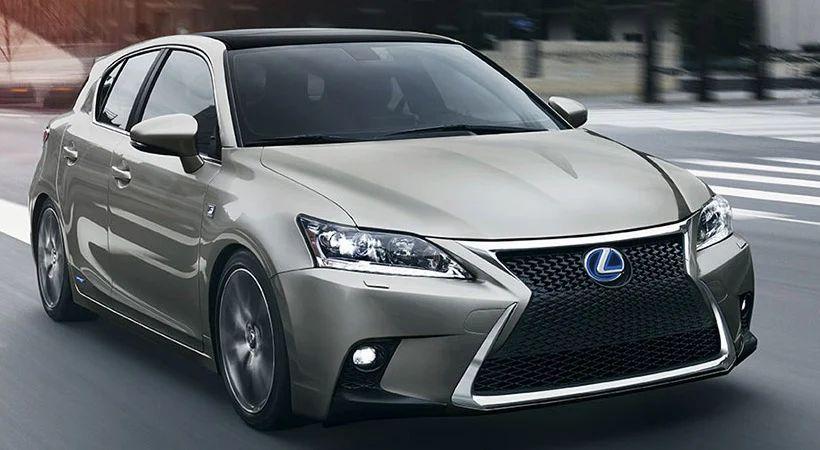Autos que gastan menos combustible: Lexus CT 200h
