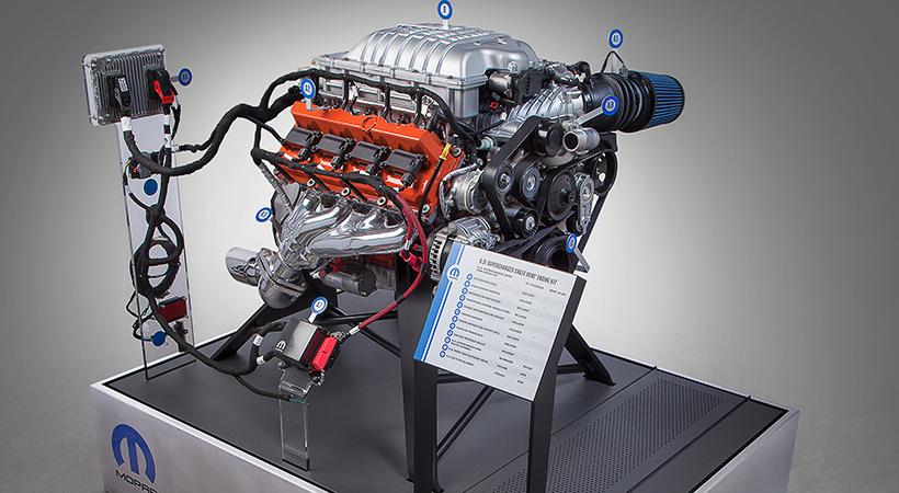 Motor HEMI Hellcrate