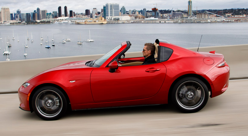 El MX-5 Miata es un puntal en la historia de Mazda