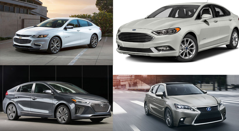 Top 10 autos que gastan menos combustible