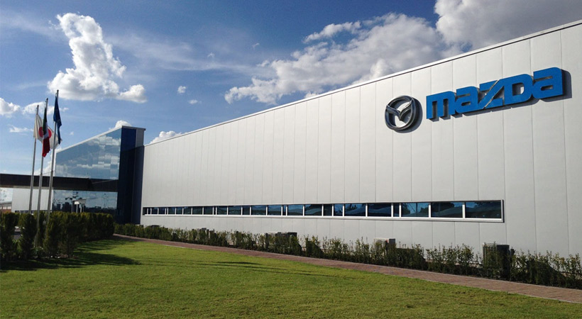 Historia de Mazda: Una de las nuevas plantas es la de Salamana, México