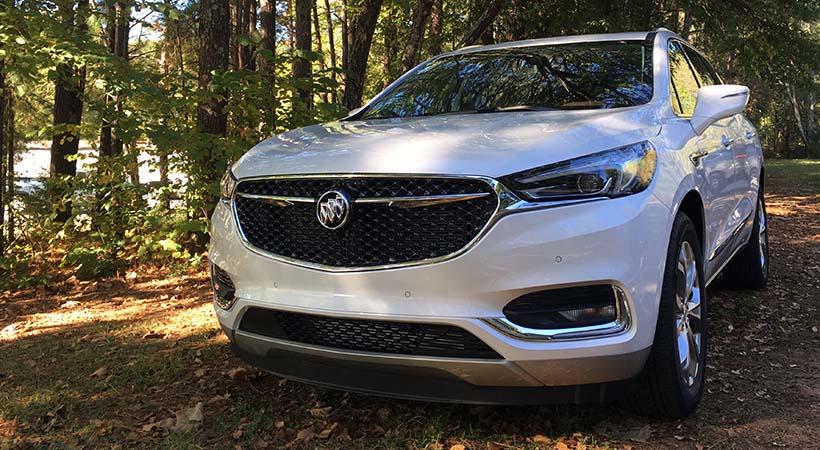 Test Drive Buick Enclave 2018