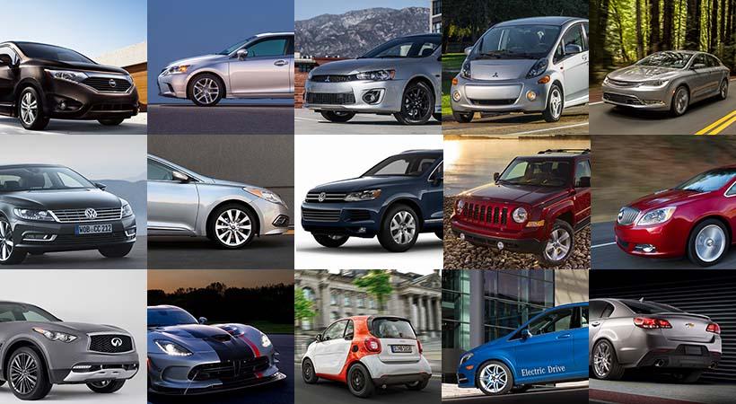 Top 15 autos discontinuados para 2018 ¿Los vas a extrañar?