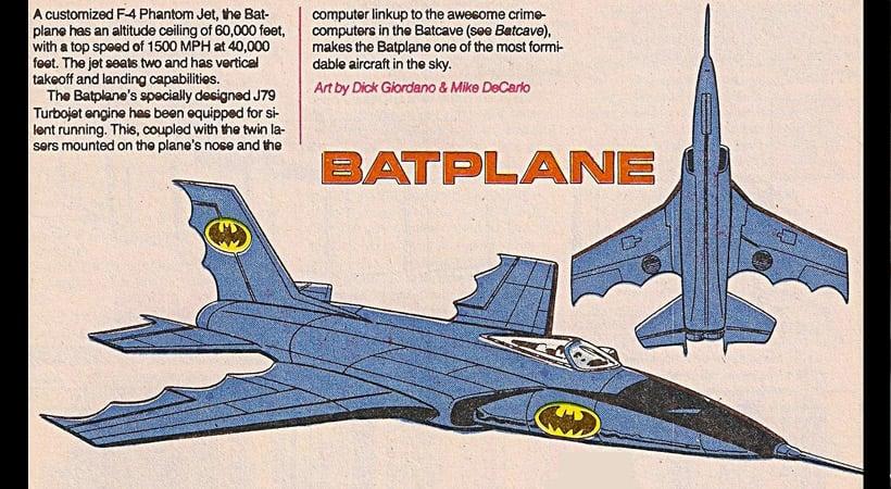 Batplane, Batwing o Batiavión