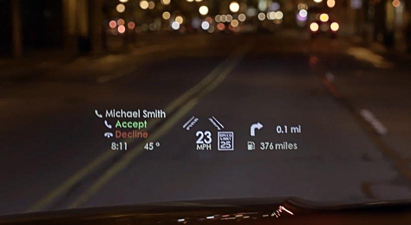 Lincoln Navigator con Head-up Display