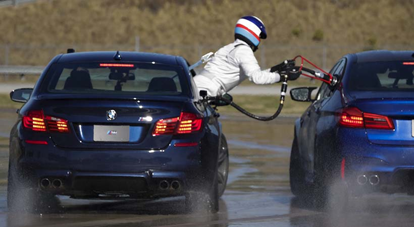 Doble récord Guinness BMW M5