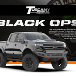 Tuscany Black Ops Custom Lifted Chevrolet Trucks For Sale