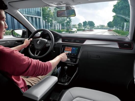 Škoda Rapid Čína