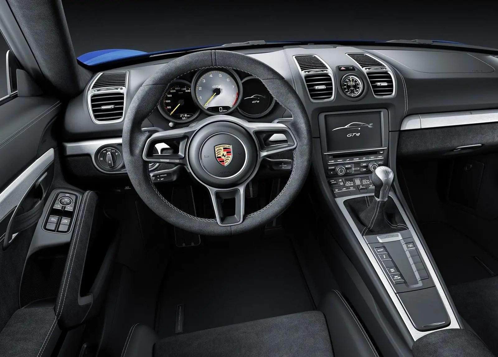 Porsche Cayman GT4 raceauto voor dagelijks gebruik