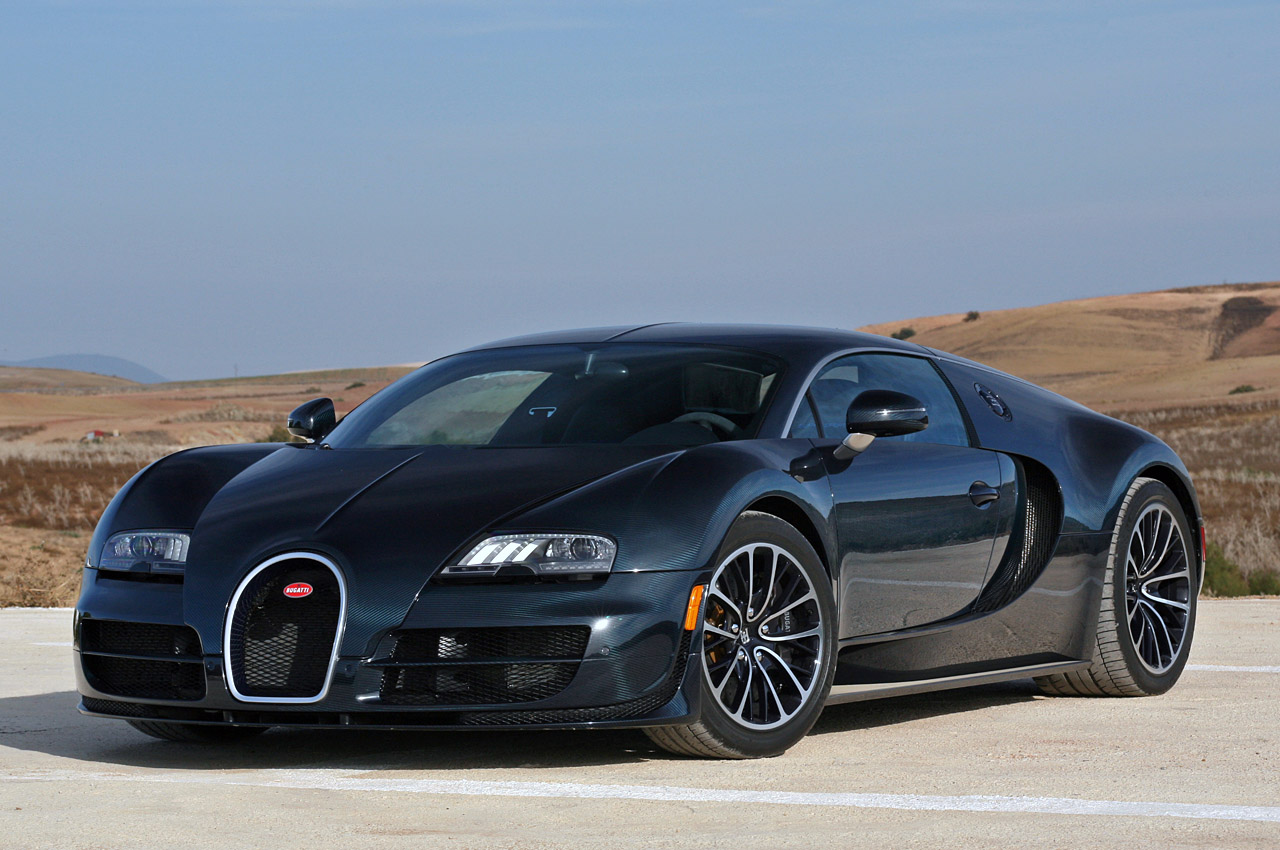 How fast does the new bugatti go