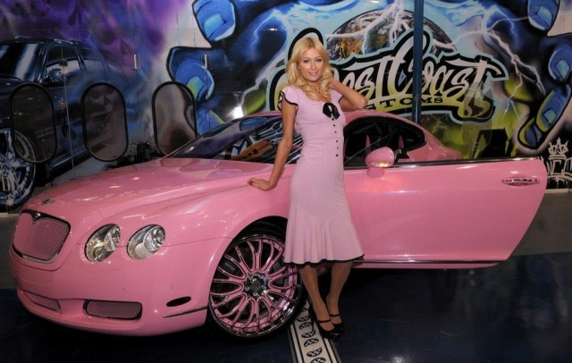 PARIS HILTON – BENTLEY GT CONTINENTAL