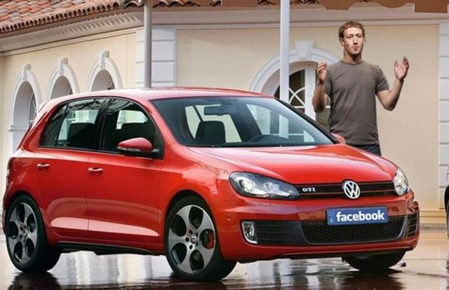 mark zuckerberg VW Golf GTI