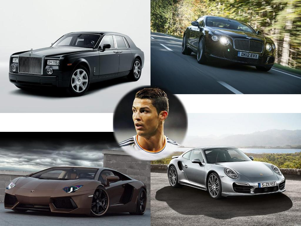 Amazing collection of cristiano ronaldo cars Celebrity motors