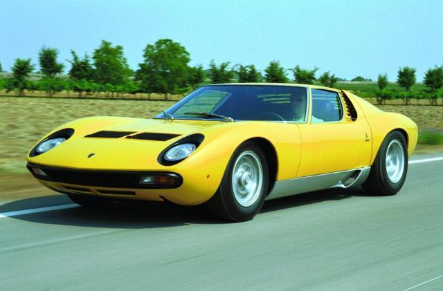 Lamborghini Miura (1971) P400 SV