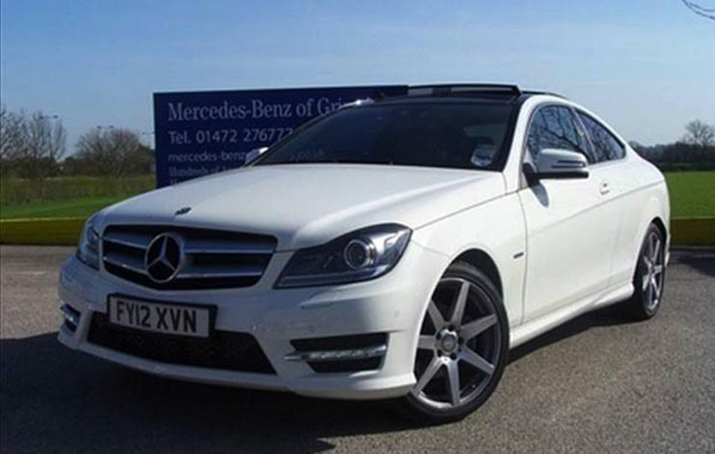 Amazing collection of cristiano ronaldo cars - Mercedes benz c class sport coupe ...
