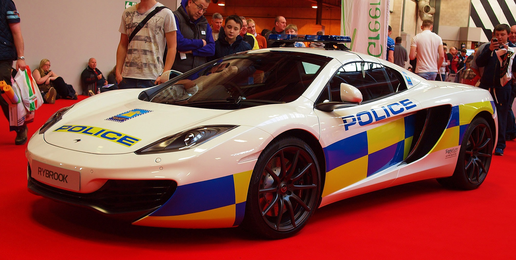 10 Fastest Police Cars In Dubai
