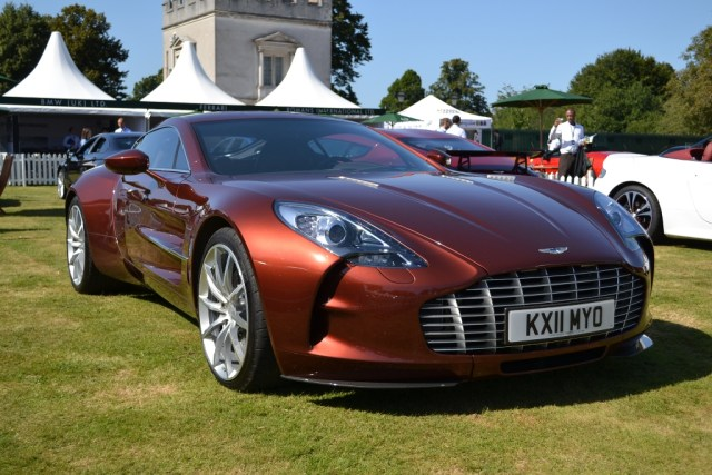 Aston Martin one – 77