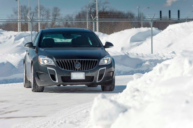 2014 Buick Regal GS AWD in Quebec, Canada.
