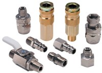 Hose Fittings for Spray Guns and Air Tools