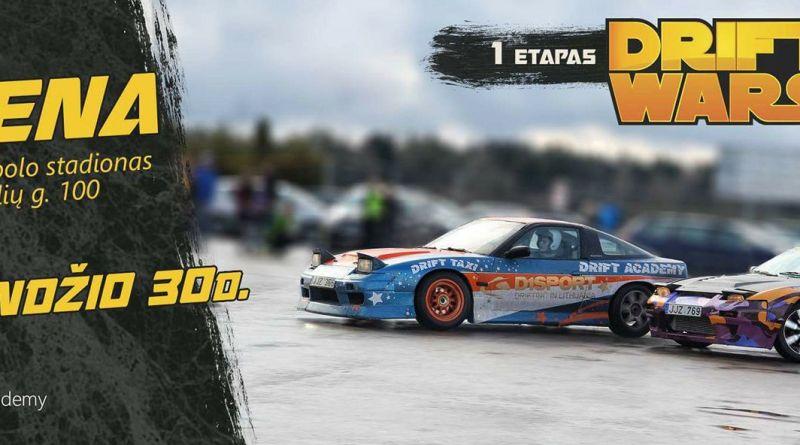 Driftingo Sezono atidarymas / D1Sport Drift Wars 1e / Utena