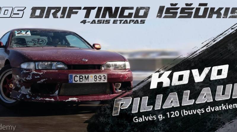 D1Sport Žiemos Driftingo Iššūkio Finalas / Pilialaukis