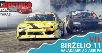 Vimota Driftingo Pirmenybės - 2e. / Vilnius