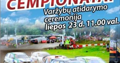 NEZ, Lietuvos, Lenkijos Ralio kroso čempionatų etapai