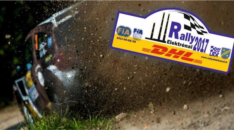 DHL Rally Elektrėnai 2017