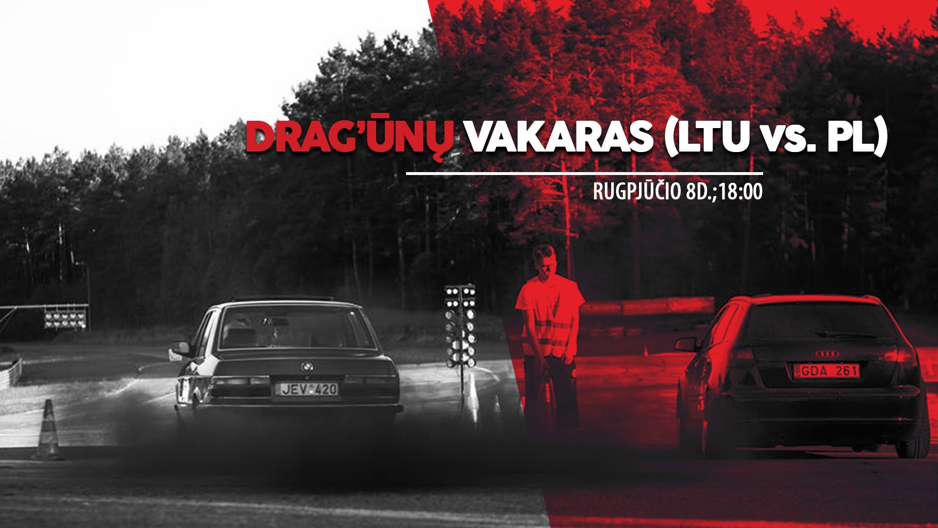 DRAG'ūnų vakaras - aplenk antradienį kaimyną