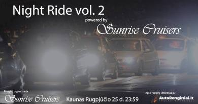 Night Ride vol. 2 (powered by Sunrise Cruisers)