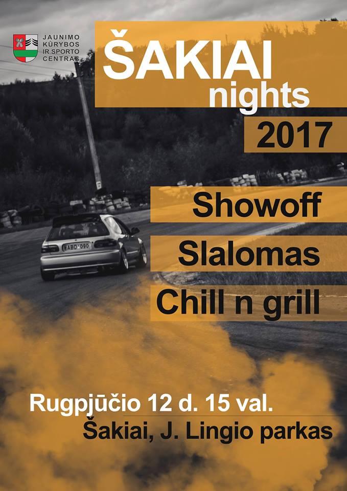Šakiai Nights 2017