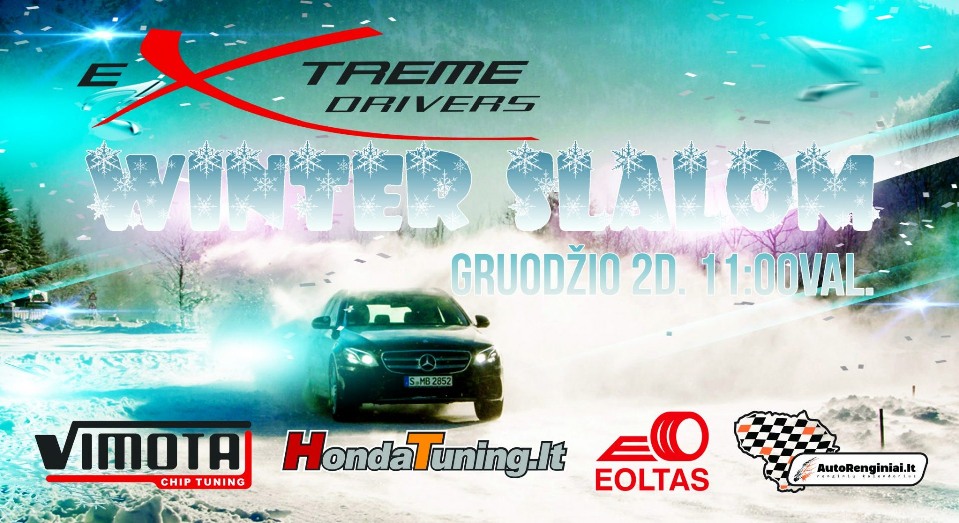 eXtreme drivers Winter Slalom