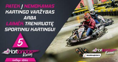 """Kartlandas Racing"" iššūkis Kaune"