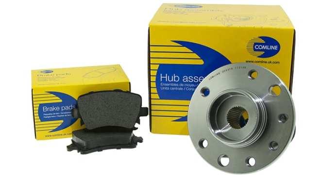 Comline increases brake and hub ranges