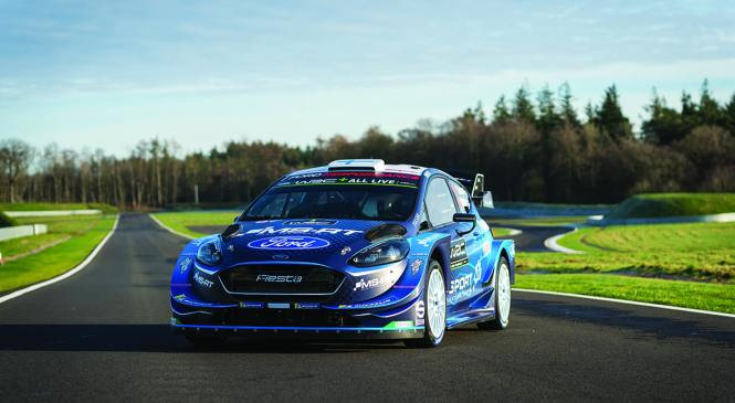 M-Sport returns to WRC with NGK