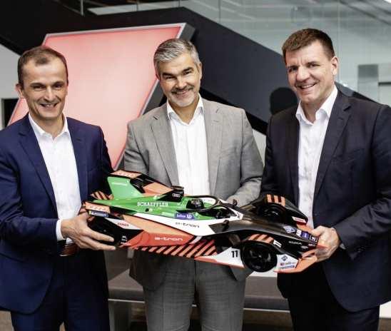 Schaeffler to continue Audi Formula E partnership