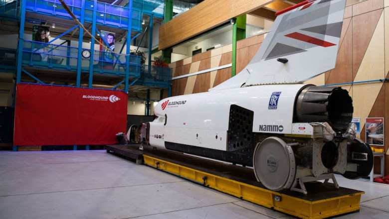 Bloodhound goes green for land speed attempt