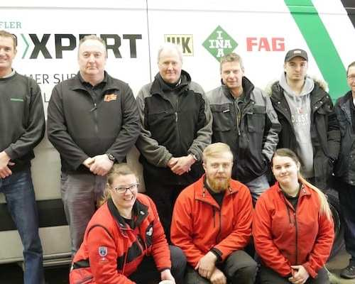 Schaeffler attracts technicians to award-winning workshop for double clutch and thermal management training