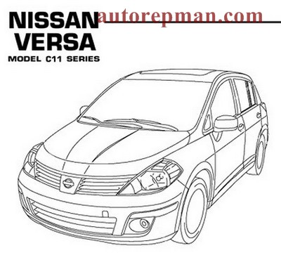 Nissan Versa, Tiida, Latio (C11) (2007-2011) service manual