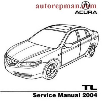 Manual de Acura TL (2004)
